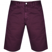 Product Image for Edwin Gangis Twill Shorts Burgundy