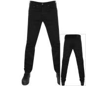 Product Image for Edwin ED80 Slim Tapered Rinsed Jeans Black