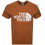 The North Face Fine T Shirt Brown