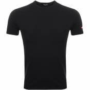 Product Image for DSQUARED2 Crew Neck T Shirt Black