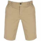 BOSS Casual Schino Slim Shorts Beige