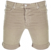 Replay RBJ 901 Denim Shorts Beige