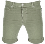 Replay RBJ 901 Denim Shorts Green