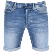 Product Image for Replay RBJ 901 Denim Shorts Blue