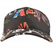 Product Image for Versus Versace Graphic Cap Black