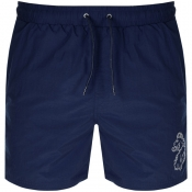 Luke 1977 Fuse Swim Shorts Navy