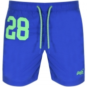 Superdry Water Polo Swim Shorts Blue