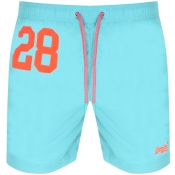 Product Image for Superdry Water Polo Swim Shorts Blue