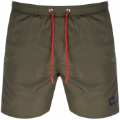 Product Image for Paul And Shark Swim Shorts Green