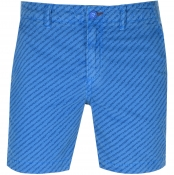 Superdry Nue Wave Wash Shorts Blue