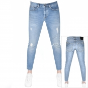 PRPS Windsor Crop Danyel Jeans Blue