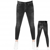 PRPS Windsor Crop Ted Jeans Black