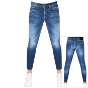 PRPS Windsor Crop Candy Jeans Blue
