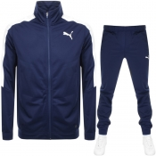 Puma Classic Tricot Tracksuit Navy