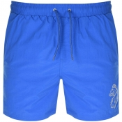Luke 1977 Fuse Swim Shorts Blue