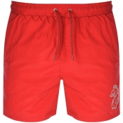 Product Image for Luke 1977 Fuse Swim Shorts Red