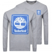 Product Image for Timberland Logo T Shirt Grey