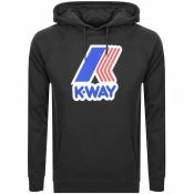 K Way Sean Logo Hoodie Black