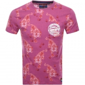 Product Image for Superdry Ticket Type T Shirt Pink