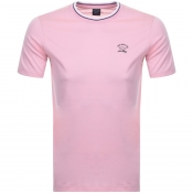 Product Image for Paul And Shark Short Sleeved Logo T Shirt Pink