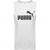 Puma Essentials Regular Fit Vest White