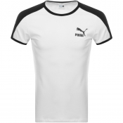 Puma Iconic T7 Slim Fit T Shirt White