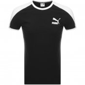 Puma Iconic T7 Slim Fit T Shirt Black