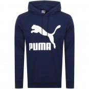 Product Image for Puma Classics Logo Hoodie Navy
