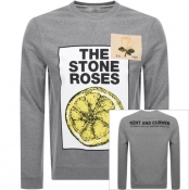 Product Image for Kent And Curwen Stone Roses Lemon Sweatshirt Grey
