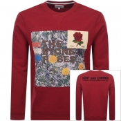 Product Image for Kent And Curwen Stone Roses Sweatshirt Red