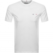 Product Image for Les Deux Crew Neck BBR T Shirt White