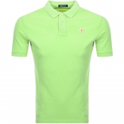 Replay Polo T Shirt Green