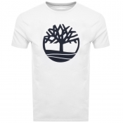 Timberland Tree T Shirt White