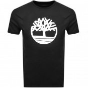 Timberland Tree T Shirt Black