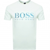 BOSS Casual Teecher 4 T Shirt Green