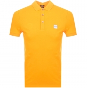 BOSS Casual Passenger Polo T Shirt Orange