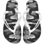 Product Image for Havaianas Top Camu Flip Flops Grey