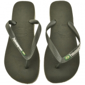 Product Image for Havaianas Brazil Logo Flip Flops Green