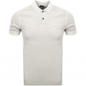BOSS Casual Prime Polo T Shirt Beige