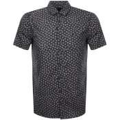 BOSS Casual Short Sleeved Magneton Shirt Black