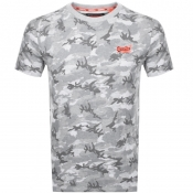 Superdry Vintage Logo T Shirt Grey