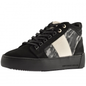 Android Homme Prop Mid GEO Suede Trainers Black img