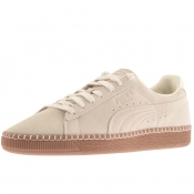 Product Image for Puma Suede Classic Blanket Stitch Trainers Beige