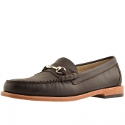 Product Image for GH Bass Weejun Lincoln Leather Loafers Brown