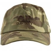 Product Image for CP Company Baseball Cap Green