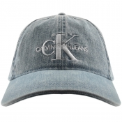 Product Image for Calvin Klein Jeans Monogram Cap Blue