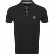 Love Moschino Short Sleeved Polo T Shirt Black