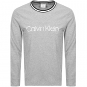 Product Image for Calvin Klein Logo Crew Neck Sweatshirt Grey