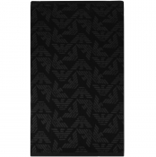 Product Image for Emporio Armani Large Logo Beach Towel Black
