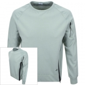 CP Company Crew Neck Sweatshirt Green